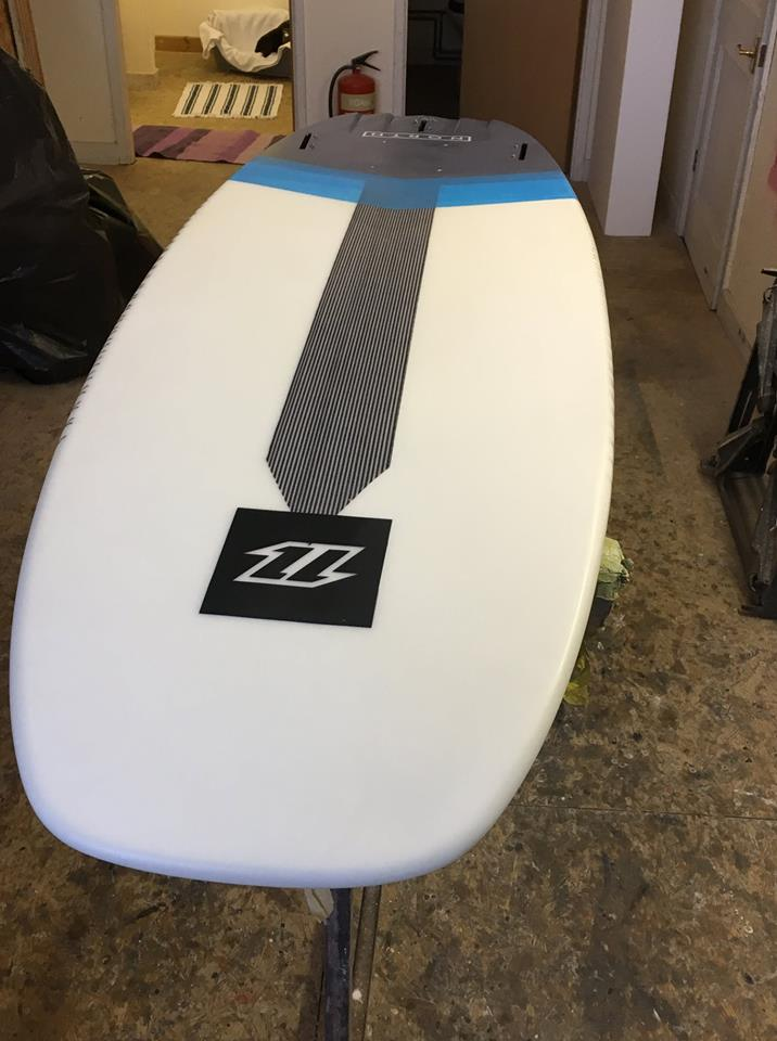 Moo Custom Repaired kite Board